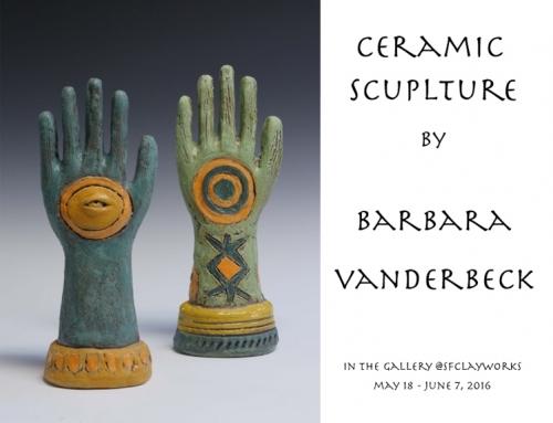 Ceramic Sculptures by Barbara Vanderbeck