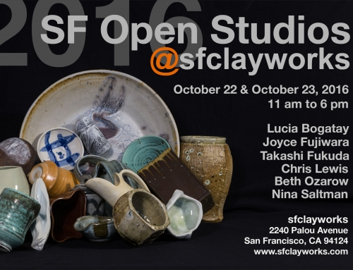 SF Open Studios 2016 @sfclayworks