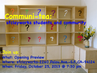Communi-tea Opening invite for your use (4x6)