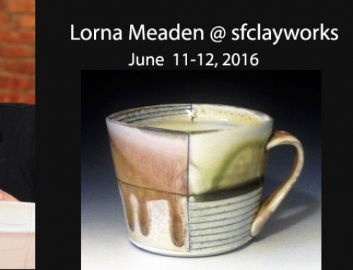 Lorna Meaden 2016 Workshop @ sfclayworks