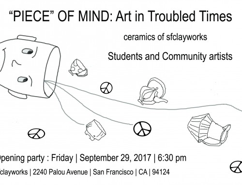 """Piece"" of Mind: Art in Troubled Times"